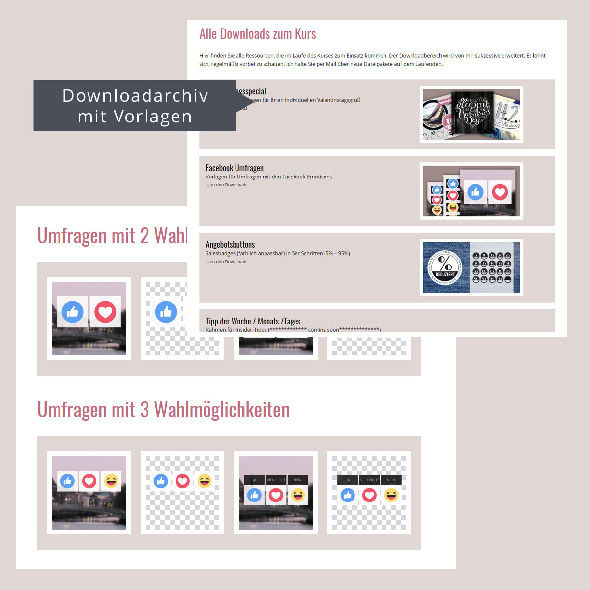 SocialMedia Fundus - Fertige Facebook-Posts zum Copy & Paste