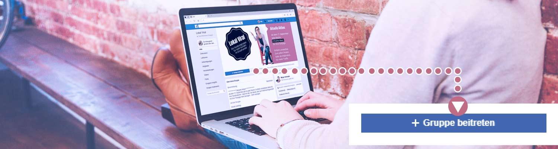 Einzelhandel Marketing - die Facebookgruppe